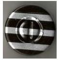 20mm Center Tear Vial Seals, Black Stripe, Pack of 100