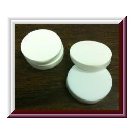20mm Teflon Silicone Septas, Pack of 50