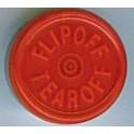 20mm Flip Off-Tear Off Vial Seals, Red, Bag 1000 West Pharma