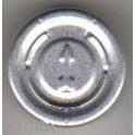 20mm Full Tear Off Vial Seals, Natural, Bag 1000