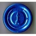 20mm Full Tear Off Vial Seals, Sapphire Blue, Bag 1000