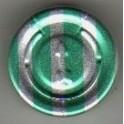 20mm Full Tear Off Vial Seals, Green Stripe, Pk 100