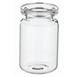 5mL Clear Shorty Serum Vial, 22x40mm, KCG, Ream of 272