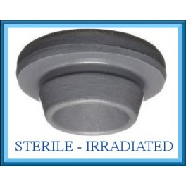 20mm Round Bottom Stopper, Irradiated, Bag of 2,000