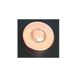 20mm Center Tear Vial Seals, Copper, Bag of 1000