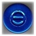 20mm Center Tear Vial Seals, Sapphire Blue, Pack of 100