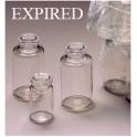 10ml Clear PETG Plastic Serum Vials, Expired Sterility, ream of 252