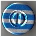 20mm Center Tear Vial Seals, Blue Stripe, Pack of 100