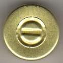 20mm Center Tear Vial Seals, Gold, Pack of 100