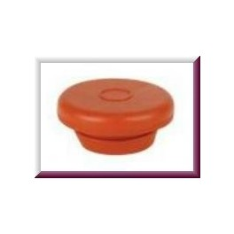20mm Vial Stopper, Red Rubber, Bag of 1000