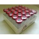 10mL Sterile Serum Vials, Ream of 25, Red Seals