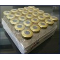 10mL Sterile Serum Vials, Ream of 25, Gold
