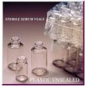 3mL open sterile serum vial, PETG plastic, Case of 3,451