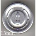 13mm Full Tear Off Vial Seals, Natural, Bag 1000