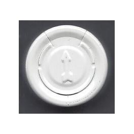 20mm Full Tear Off Vial Seals, White, Bag 1000