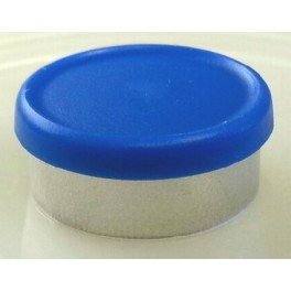 West Matte 20mm Flip Cap Vial Seal, Royal Blue, Bag of 1000