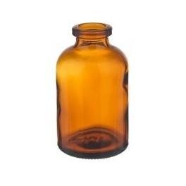 50mL Amber Serum Vials, 43x73mm, Case of 243