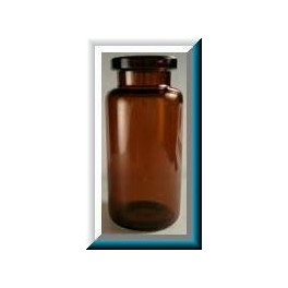 5mL Amber Serum Vials, Holds 10mL, 23x47mm, Case of 864