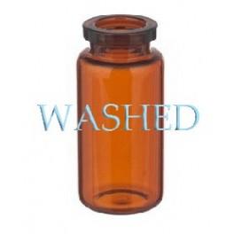10mL Amber WASHED Serum Vials, 24x50mm, Case of 756