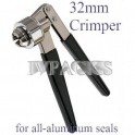 32mm All Aluminum Vial Seal Crimper