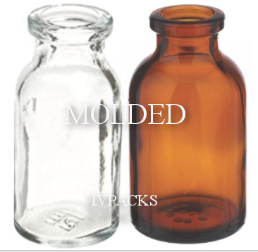 Molded Serum Bottles